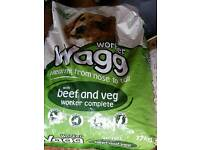 Wagg Worker beef and veg flavour 17kg bag