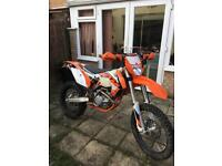 KTM 450 exc with supermoto wheels