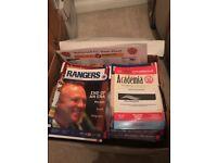 Rangers football programmes 2005/6