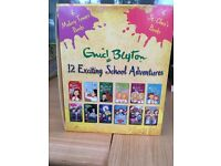 a collection of children's books written by Enid Blyton, about 12 exciting school adventures