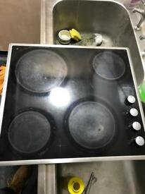 Bosch counter top electric hob cooker