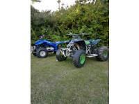 2x quads swaps blaster 200 and yamaha