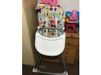 Avent bottle warmer & highchair&toy guitar
