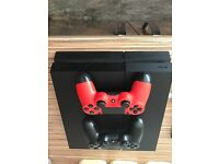 Boxed PS4; 2 Controller Pads; 3 Games