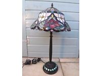 "Beautiful Tiffany Style Table Lamp-26""(66cm) Tall"