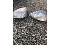 Clio 182 xenon headlights