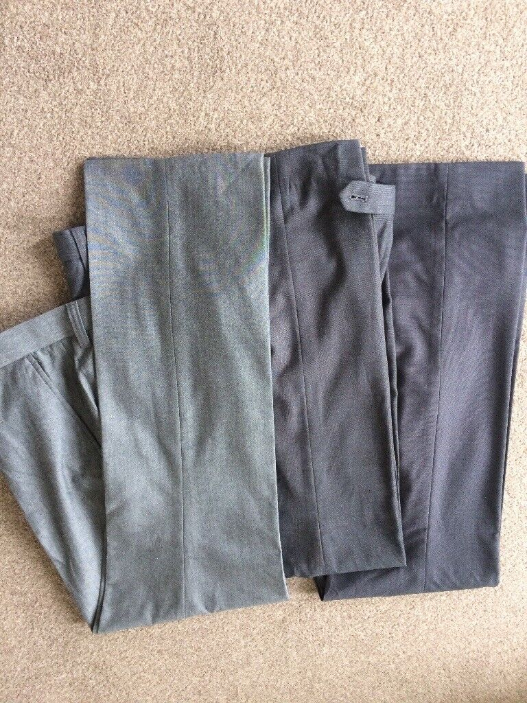 As new condition 3 pairs dress trousers Next