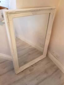 White Boutique Style Mirror!