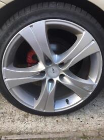 "18 ""inch alloy wheels"