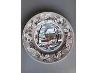 3X Johnson Bros Collectors plate Historic America Thanksgiving Dinnerware Plate