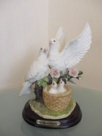 The juliana collection dove figurine