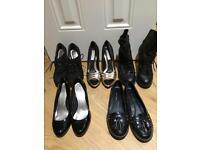 Women's shoes size 4 Heels (Next Debenhams New Look etc) Black