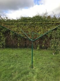 Rotary Washing Line & Cover