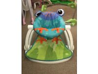 Frog seat