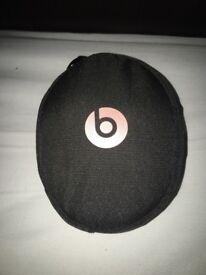 Rose Gold Dr Dre Beats headphones (wireless)