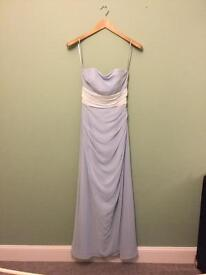 Stunning powder blue occasion dress size 8