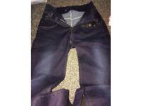 Lady's jeans next size 10 L
