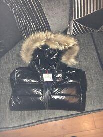Moncler coat size 10