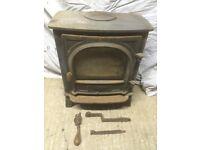 Stovax Stockton 5kw Wood Burning Stove suit home workshop shed garage games room house log burner