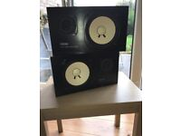 Pair of Yamaha NS-10M Studio Monitor Speakers