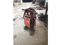200 amp cebora DC hf tig welding set up inverter
