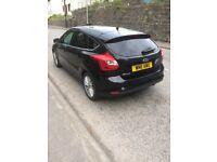 Black Ford Focus