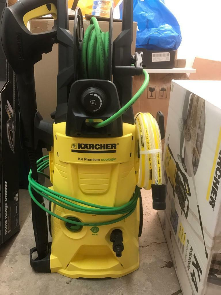 karcher k4 premium ecologic home pressure washer in. Black Bedroom Furniture Sets. Home Design Ideas