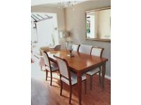 Italian Dining Table and Chairs