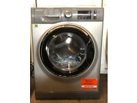 Hotpoint washing machine 8kg grey ex-display model free local delivery