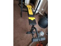 EVERLAST Fitness Home Gym Weight Bench Press