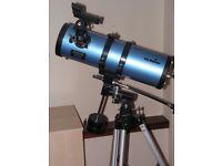 Sky-Watcher Catadioptric-Newtonian Telescope (Model SK1141EQ1).