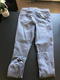 New look size 12 high waist super skinny jeans
