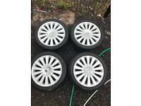"17"" Genuine Volkswagen Alloy Wheels 17 inch"