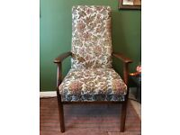Parker Knoll High Back Armchair