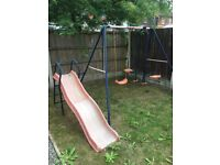 Free swing and slide set