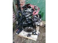 Engine and gearbox Ford 1.8 tdci