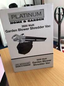 Platinum Garden Blower 2600 watt