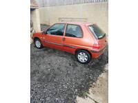 Peugeot 106 12months mot