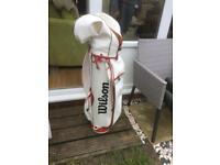 Retro 1980's Wilson Golf Bag