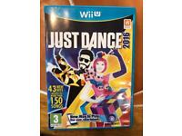 just dance 2016- brand new for the wiiU
