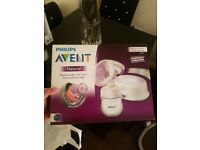Avent manual breast pump & Avent single electric breast pump