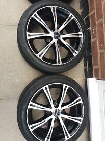 Peugeot 206 alloy wheels