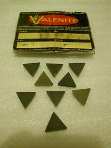 VALENITE TPC 321J – CARBIDE INSERTS (NEW) milling machine, lathe