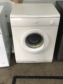 white dryer only £35 CAN DELIVER **