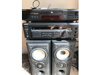 Sony separates, amp and CD player