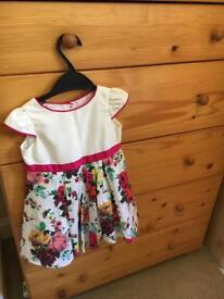 Ted baker baby dress 12-18 months
