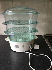 Morphy Richards three tier electric steamer