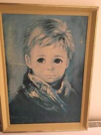 Audrey Dallas Simpson Little Boy Print