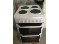 Indesit ID50E1W Electric Cooker-dual oven £80