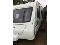 Elddis crusader mistral 2009 4 berth fixed island bed
